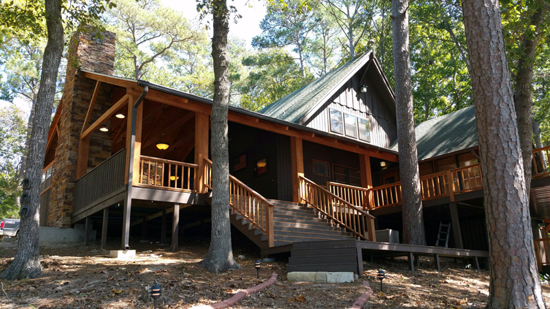 Hunters cabin 2 texas trophy whitetail hunting for Hunt texas cabins